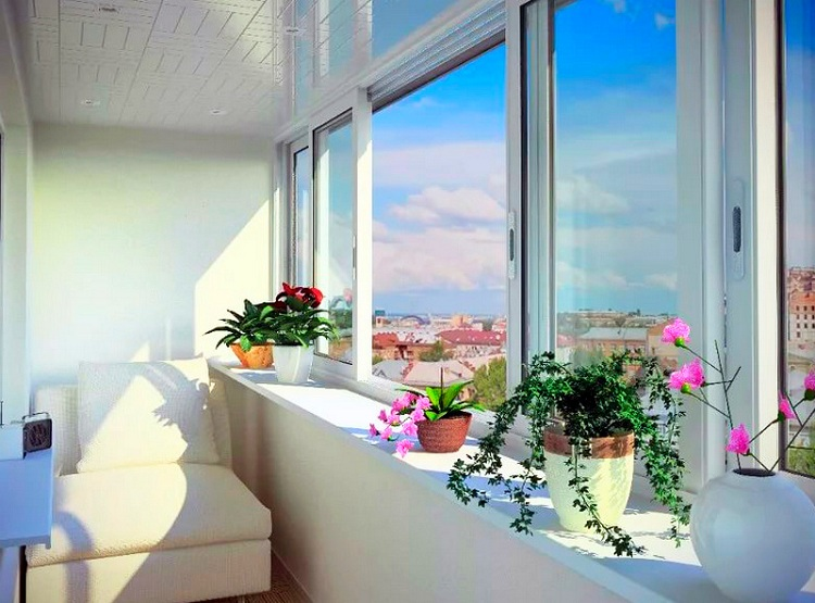 стеклопакеты на балконе