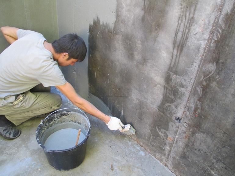 внутренняя гидроизоляция дома
