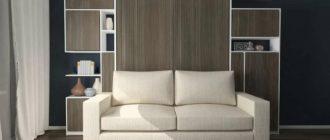 шкаф-диван-кровать трансформер 3 в 1