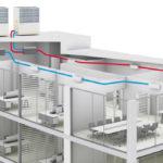 Вентиляция бизнес-центров: специфика проектирования и монтажа